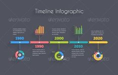 Timeline Infographic Template - Concepts Business