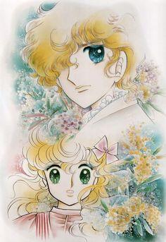 Georgie and Lowell Grey by Mann Izawa•Art of Yumiko Igarashi color sleeve ✤…
