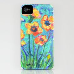 Pansies iPhone Case by gretzky - $35.00