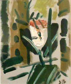Jason Berger. University Road Brookline, oil on canvas, 2013