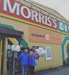 The WLR FM Street Team are at @morrisdiy_waterford for the May-Hem one day May sale. Great deals on electrical items and garden furniture. Spot prizes will also be given away so call down and say hi. #wlrfm #morris's #may-hem #sale