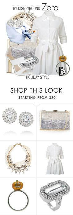 """""""Zero"""" by leslieakay ❤ liked on Polyvore featuring Kenneth Jay Lane, Topshop, Lulu Frost, WithChic, Louise et Cie, Carvela, disney, disneybound and disneycharacter"""