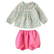 Trailing Daisy Baby Blouse And Bloomer
