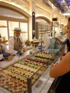 Harrods - London, England - Ah, the food hall!  I have heard stories...can't wait to visit!
