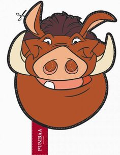 Máscaras del Rey León para Imprimir Gratis. | Ideas y material gratis para fiestas y celebraciones Oh My Fiesta!