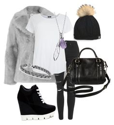 """""""Street style 101"""" by emma-oloughlin ❤ liked on Polyvore featuring Topshop, Merona and Blue Nile"""