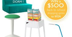 Win a $500 shopping spree from IKEA {US} 9/15/16 via... sweepstakes IFTTT reddit giveaways freebies contests