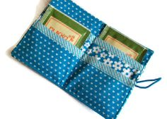 Tea Bag Wallet Holder for Tea Bags Card by moodycowdesigns, £6.00