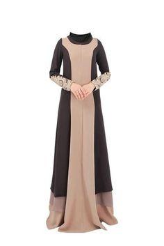 Appliques Islamic Dress Chiffon Turkish Women Clothing Abayas Black Abaya Saudi Dress Muslim Dubai Dress Hijab Coffee L Source by itagans dresses hijab Muslim Dress, Hijab Dress, Cheap Maxi Dresses, Modest Dresses, Abaya Fashion, Muslim Fashion, Estilo Abaya, Abaya Mode, Abaya Dubai