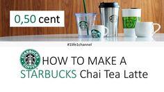 DIY startbucks kickoff chai tea latte at 0.50 cent #starbucks #coffee #love #frappuccino #latte #tea #yummy #gift