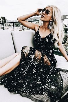 Sexy Sparkly Black Spaghetti Straps A Line Star Long Prom Dress Prom Dress Sexy, Prom Dresses, Sleeveless Prom Dress, Prom Dress Long, Black Prom Dress Prom Dresses Long Black Prom Dresses, Tulle Prom Dress, Sexy Dresses, Party Dresses, Dress Black, Elegant Dresses, Wedding Dresses, Sparkly Homecoming Dresses, Occasion Dresses