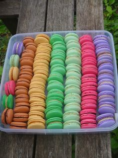 french macarons reci