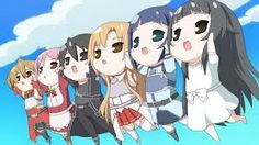 Image result for sword art online characters