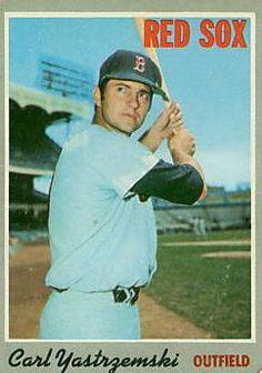 Carl Yastrzemski and baseball cards