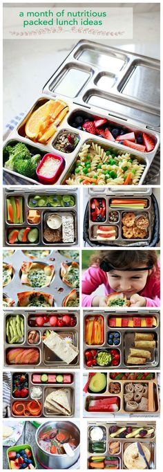 What to Pack in Insulated Lunch Containers - Kids Lunch Ideas | Yummy Mummy Kitchen | A Vibrant Vegetarian Blog(adapt these ideas for your allergy needs)