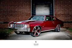 '71 Chevelle SS on Vellano Wheels. Awesome American Muscle Car!