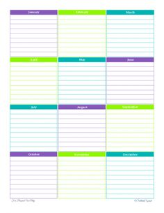 Personal Planner  Free Printables  Weekly Planner The OJays