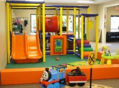 Indoor Playground Toddler Zone with Interactive Activity Games