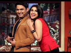 Kapil Sharma Firts With Parineeti Chopra in The Kapil Sharma Show http://youtu.be/6FSvWRWoHRM