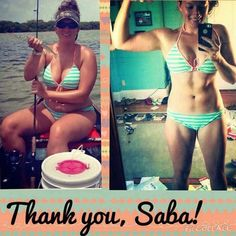 Oh you know. Just my gorgeous friend Ashley rocking her new Saba bod this summer!  I bet she feels so much more confident in that bikini this year.   If you aren't Bikini ready just quite yet I can help!  ☀️