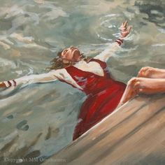 M19054 Underwater Original Artwork, Original Paintings, Art Paintings, Pigment Ink, House Painting, Painting Inspiration, Canvas Art Prints, Cotton Canvas, Underwater
