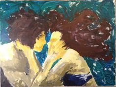 Acrylic on canvas 18x24  Hold On a Minute by MauvelousJoy on Etsy