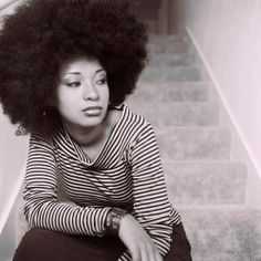Fluffed Afro