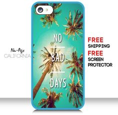 Cute Palm Trees Iphone 5S Case Vintage Iphone 5 by NuAgeProducts, $13.99