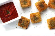 Paleo Toasted Beef Ravioli by PredominantlyPaleo.com @predominantlypaleo #paleo #aipaleo
