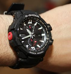 Casio G Shock Aviation GW A1000 Watch Review   wrist time watch reviews