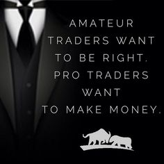 It's not about being right or wrong that matters. You could lose three trades in a row, but if you make money at the end of the month and year and make consistent profits, then that's all that matters!  #MakeMoneyTradingForex #ForexSchoolOnline