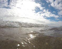 Crystal Clear water in Palm BGardens, Florida  eyes view. ocean. salt life. water. blue sky. crystal