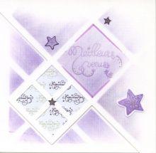 Mes cartes de voeux AZZA! Réalisées avec le gabarit AZZA Cards 'Merry Christmas'