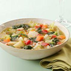 30-Minute, Low-Calorie Soups