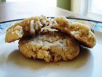 Coconut Dessert Recipes: Coconut Cream Cheese Cookies
