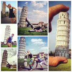 The Tower of Pisa, or Torre di Pisa, has a lean of about 3.99 degrees that has tourists flocking to Italy in so they can pose for photographs pretending to help hold the bell tower upright. Check out the Leaning Tourists of Pisa, with photos by @mac_googo, @mayadelano, @otjep, @simy86, @spirossoulis & @bethpearsonx, over at blo...