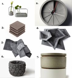 Port Living Co.: Culinarium, For those who spend our days in the concrete jungle, the notion of filling one's habitat with rock-based material might perplex. Take one glance below, however, and see how concrete's loo… Concrete Jungle, Food Design, Habitats, Fancy, House Design, Cool Stuff, Rocks, Camping Products, Kitchen Gadgets