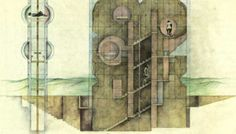 sección (house without rooms, raimund abraham)