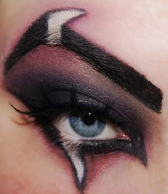 cool Scar makeup from lion king for halloween!