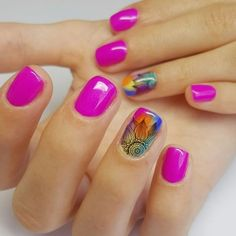 What Christmas manicure to choose for a festive mood - My Nails Fancy Nails, Love Nails, Pink Nails, Pretty Nails, My Nails, Cute Spring Nails, Spring Nail Art, Nail Designs Spring, Nail Art Designs