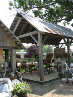 Simple covered outdoor structure  :>}