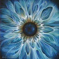 "Getting Stitched on the Farm-""Eye Portrait"" by Alicia Hunsicker"