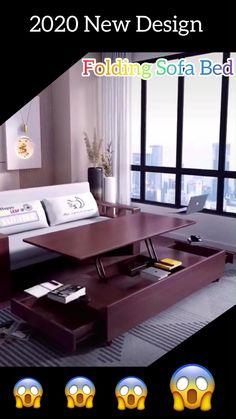 Room Design Bedroom, Home Room Design, Home Interior Design, House Design, Folding Furniture, Space Saving Furniture, Home Furniture, Furniture Design, Sofa Bed Set