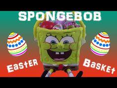 Spongebob Easter Basket Surprise!! Kinder Surprise Blind Boxes