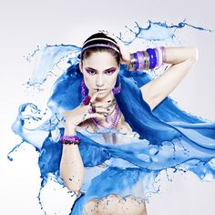 Jewel, beauty and splash by D-image studio