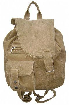 mochila de couro moderna