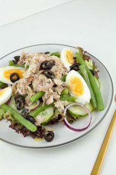 Gerookte makreelsalade Healthy Dishes, Healthy Recipes, Clean Eating, Healthy Eating, Healthy Food, I Want Food, Still Tasty, Food Bowl, Happy Foods
