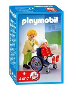 silla de rueda para niños playmobil: nuevo en playmyplanet