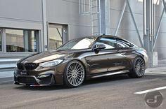 BMW M4 in Pyritbraun Metallic: M Performance trifft Individual: