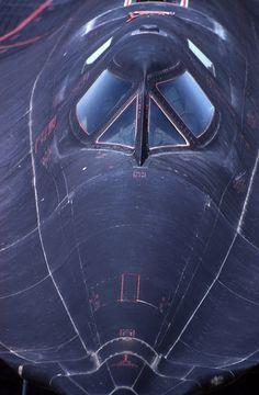 SR71 Blackbird - close-up details